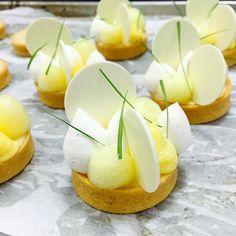 Lemongrass and Coconut Tart Antonio Bachour