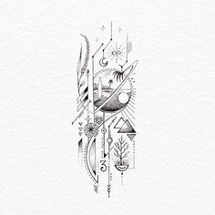 63 Trendy Tattoo Femininas Ideas Awesome - The Best Geometric Space Tattoos - Planet Tattos Ideas Trendy Tattoos, Unique Tattoos, Cool Tattoos, Small Tattoos, Awesome Tattoos, Outer Space Tattoos, Symbolic Tattoos, Illustration Photo, Ink Illustrations