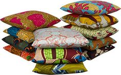 Henry Road: African Wax Cloth Pillows