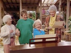 Fact from St. Olaf: The Golden Girls premiered on network television on this day in 1985. Thank you for being a friend for 27 years!