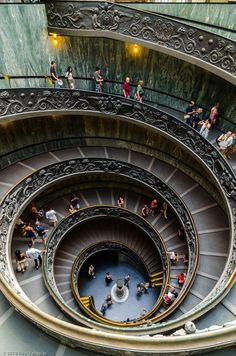Vatican Museums, Rome, Italy.  I want to go back to the Vatican so much.