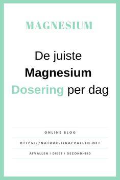 Magnesium is een mineraal dat je nodig hebt voor een gezonde functie van het lichaam zoals de energiemetabolisme, je spieractiviteit en de gezondheid van je botten. Body And Soul, Diy Beauty, Health And Beauty, Sick, Detox, Health Care, Medicine, Grey Fox, Mindfulness