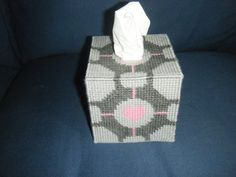 I love companion cubes!! I could do this..... i think