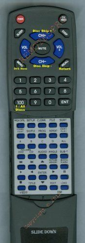 SONY Replacement Remote Control for 141832151, DVPCX850D, RMTD113A by Redi-Remote. $39.95. This is a custom built replacement remote made by Redi Remote for the SONY remote control number 141832151. *This is NOT an original  remote control. It is a custom replacement remote made by Redi-Remote*  This remote control is specifically designed to be compatible with the following models of SONY units:   141832151, DVPCX850D, RMTD113A  *If you have any concerns with the remote...