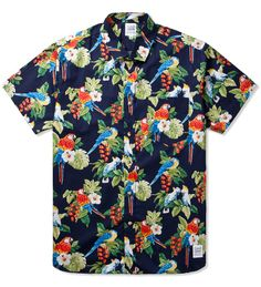Grind London Tropical Pigeon (Parrot) Shirt | Hypebeast Store