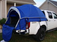 Hannibal Roof Top Tent Installed On Nissan Frontier Pickup