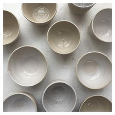 Cups. Or bowls.