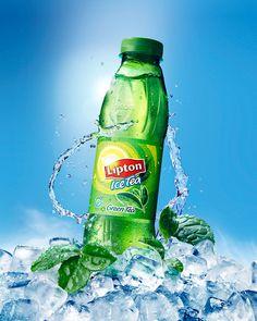 Lipton Green Tea on Behance