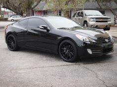 Black Hyundai Genesis