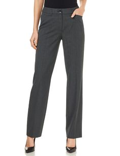 Elegant trousers with a wide leg Pamela,Anthrazit