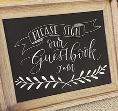 Leslie Writes it All - Custom wedding and event signs and stationary