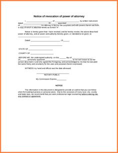 Authorization Letter Samples Attorney Form Template Power Sample