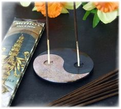 Ying Yang Double Incense Holder $24.95