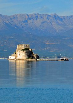 #Bourtzi Fortress in #Nafplio - #Greece