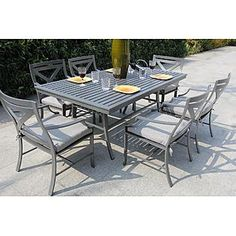 BHG (Bellini Home and Gardens) -Xanadu 7 Pc Dining Set
