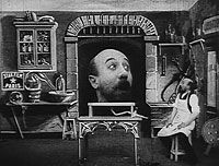 French Silent Fantasy Film - Explanation about film - Connected to the subconscious section of my research; power of suggestion, amount of information left out of visionary leaves the viewer to use their imagination ...