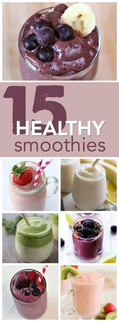 Lower Excess Fat Rooster Recipes That Basically Prime 15 Healthy And Delicious Smoothie Recipes From Fast Breakfast Ideas Kid Approved Snacks Healthy Breakfst Healthy Green Smoothies, Raspberry Smoothie, Healthy Drinks, Healthy Snacks, Protein Smoothies, Healthier Desserts, Healthy Recipes, Asian Recipes, Healthy Life
