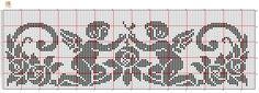 Crochet Skull Patterns, Crochet Angel Pattern, Knitting Paterns, Crochet Angels, Christmas Crochet Patterns, Cross Stitch Embroidery, Cross Stitch Patterns, Filet Crochet Charts, Cross Stitch Angels