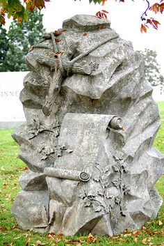 Woodmen of the World Gravestone