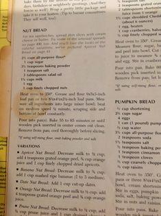 Betty Crocker Cookbook Banana Bread