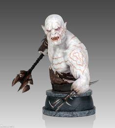 The Hobbit Azog Mini Bust