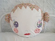 dollface cushion by Jenni Harley - Love it!!!