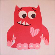 Love Monster craft!