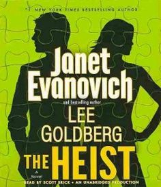 """The Heist By Evanovich, Janet 1st book in Fox & O'Hare series A brand-new series from #1 New York Times bestselling author Evanovich and Goldberg, bestselling author and television writer for """"Monk."""" What's an FBI agent to do after she's caught the world's most wanted--and irresistibly charming--con man? Partner up with him."""