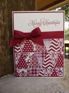 Image result for christmas quilt stampin up