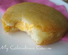 Arepa de Huevo (Corn Cakes Stuffed with a Egg) Colombian Cuisine, Colombian Recipes, Colombian Arepas, Good Food, Yummy Food, Delicious Dishes, Corn Cakes, Comida Latina, Fun Easy Recipes