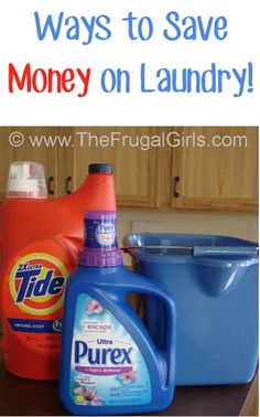 BIG List of Ways to Save Money on Laundry! ~ from TheFrugalGirls.com ~ you'll love these simple tips and tricks to save BIG at home! #thefrugalgirls