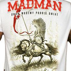 Motyw patriotyczny na koszulce 'Husaria' ---> Streetwear shop: odzież uliczna, kibicowska i patriotyczna / Przepnij Pina!