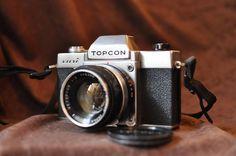 Topcon Uni SLR Working Camera with 53mm f2 Tokyo Kogaku Lens Japan Vintage 35 mm #Topcon