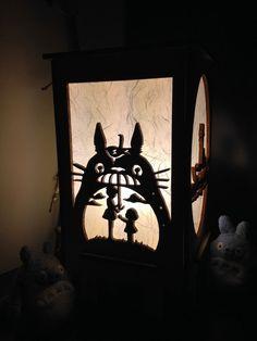 Totoro Lamp par StoryBoardLamps sur Etsy