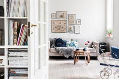 living room, via bolig