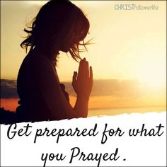 Prayers For Strength: Get prepared for what you prayed Jesus Faith, Jesus Is Lord, Faith In God, Short Prayers, Simple Prayers, Daily Prayer, My Prayer, Prayer Room, Pray For Strength