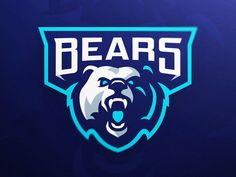 Bears eSports Mascot Logo designed by Derrick Stratton. Connect with them on Dribbble; the global community for designers and creative professionals. Logo Esport, Logo Branding, Corporate Branding, Corporate Design, Badge Design, Logo Design, Identity Design, Brand Identity, Graphic Design