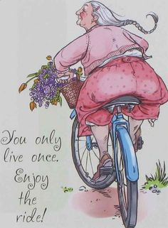 ❥ Wishing everyone a Happy New Year! Enjoy the ride it is the only one we get! Birthday Greetings, Birthday Wishes, Birthday Cards, Penny Black Karten, Enjoy The Ride, Illustrations, Pics Art, Getting Old, Make Me Smile