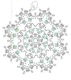 Crochet Snowflake Pattern, Crochet Snowflakes, Crochet Doily Patterns, Crochet Diagram, Crochet Chart, Crochet Squares, Crochet Motif, Crochet Doilies, Crochet Flowers