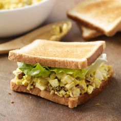 Curried Egg Salad Sandwiches | Recipes | Weight Watchers