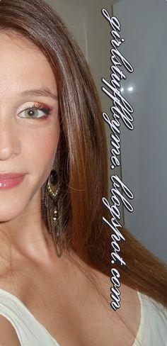 #makeup #greeneye #sleek