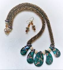 Image result for kumihimo with beads how to