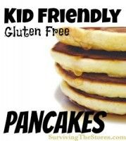 Kid-Friendly Gluten Free Pancakes Recipe!