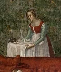 Italian Renaissance | Leslie Courtney; Another servant. There will be more than one on stage I assume. Always good to have more than one choice for them.