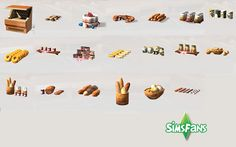 My Sims 4 Blog: TS2 Bakery Conversions by Marco13™