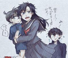 Oh no, Aoko found him... --Detective Conan--