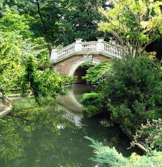 Paris, sus parques, jardines y bosques....  Parc Monceau