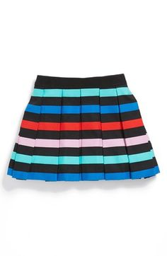 Milly Minis Pleated Skirt (Toddler Girls, Little Girls & Big Girls) available at #Nordstrom