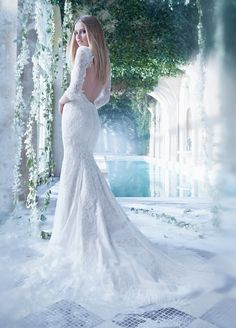 Romanic Alvina Valenta Wedding Dresses 2014 - MODwedding