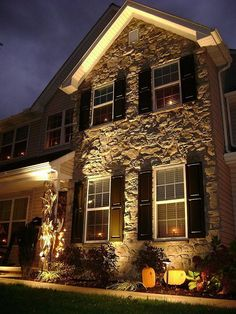 22 Landscape Lighting Ideas | Diy network, Landscaping and Dark spots